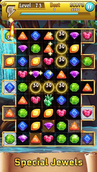 Jewels Trip скриншот 2