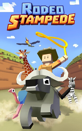 Rodeo Stampede: Sky Zoo Safari скриншот 1