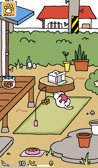Neko Atsume: Kitty Collector скриншот 1