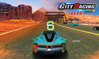 City Racing Lite скриншот 1