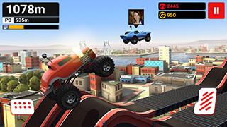MMX Hill Climb скриншот 1