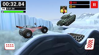 MMX Hill Climb скриншот 2