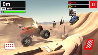 MMX Hill Climb скриншот 4