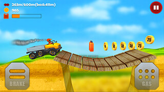 Hill Racing 3D: Uphill Rush скриншот 2
