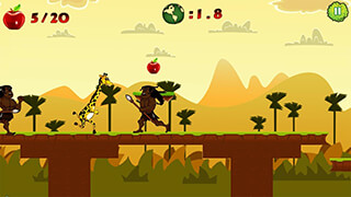 Giraffe Run скриншот 1