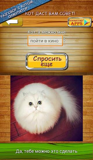 Ask Cat Speak Simulator скриншот 2