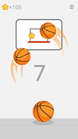 Ketchapp: Basketball скриншот 1