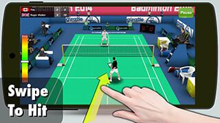 Badminton 3D скриншот 1