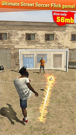 Street Soccer Flick скриншот 1
