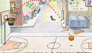 Doodle Basketball 2 скриншот 2