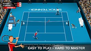 Stick Tennis скриншот 1