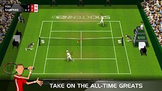 Stick Tennis скриншот 2