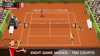 Stick Tennis скриншот 3