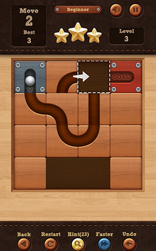 Roll the Ball: Slide Puzzle скриншот 1