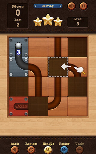 Roll the Ball: Slide Puzzle скриншот 3