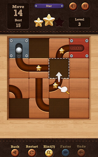 Roll the Ball: Slide Puzzle скриншот 4