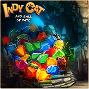 Indy Cat and Ball of Fate: Match 3 иконка