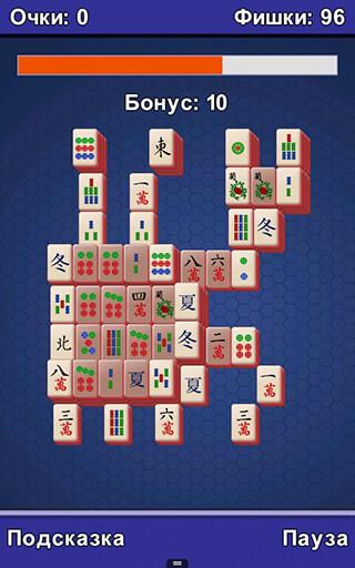 Mahjong скриншот 2