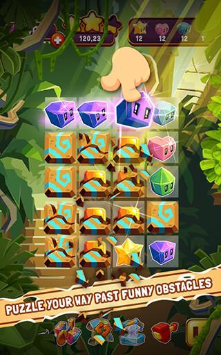 Jungle Cubes скриншот 1