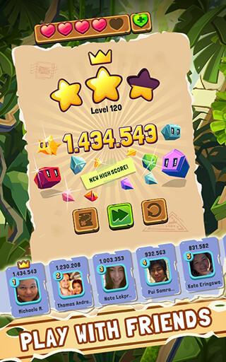 Jungle Cubes скриншот 2