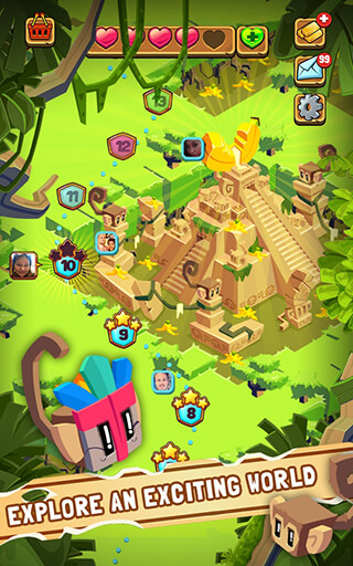 Jungle Cubes скриншот 3