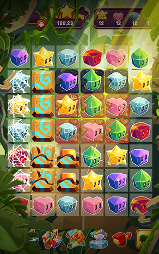 Jungle Cubes скриншот 4