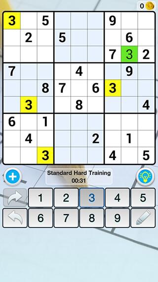 Sudoku Free скриншот 2