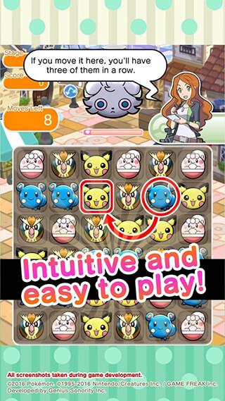 Pokemon Shuffle Mobile скриншот 3