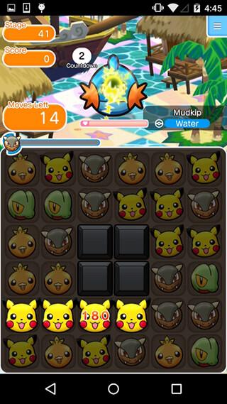 Pokemon Shuffle Mobile скриншот 4