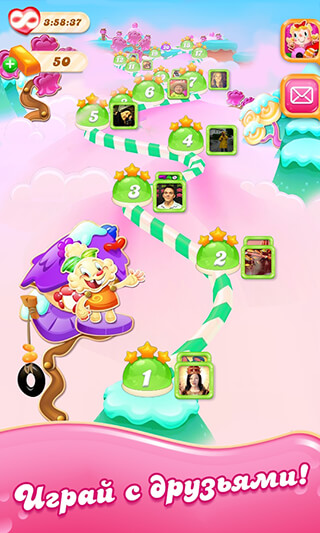 Candy Crush: Jelly Saga скриншот 4