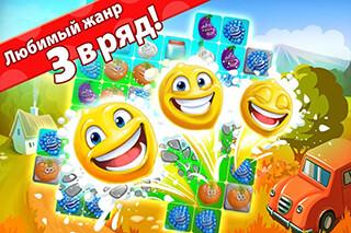 Funny Farm: Super Match 3 Game скриншот 1