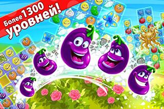 Funny Farm: Super Match 3 Game скриншот 2