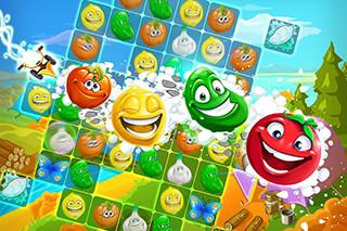 Funny Farm: Super Match 3 Game скриншот 4