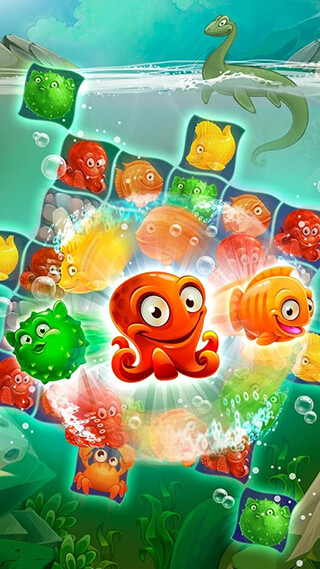 Mermaid Puzzle: Fish Rescue скриншот 4