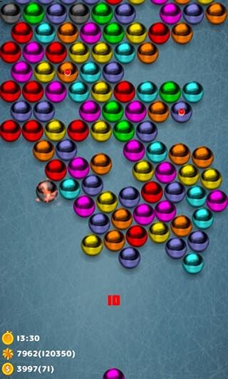 Magnetic Balls Bubble Shoot скриншот 1