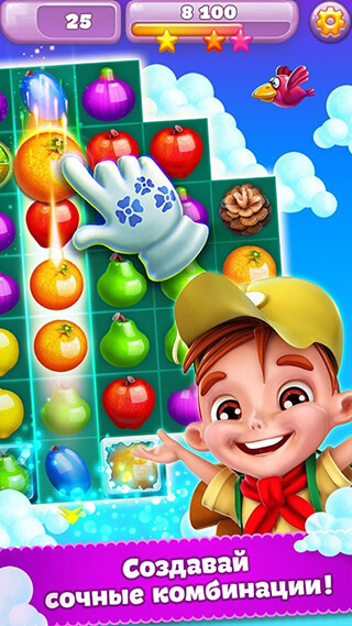 Viber: Fruit Adventure скриншот 2