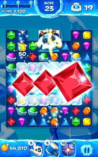 Jewel Pop Mania: Match 3 Puzzle скриншот 1