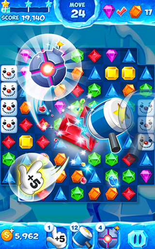 Jewel Pop Mania: Match 3 Puzzle скриншот 4