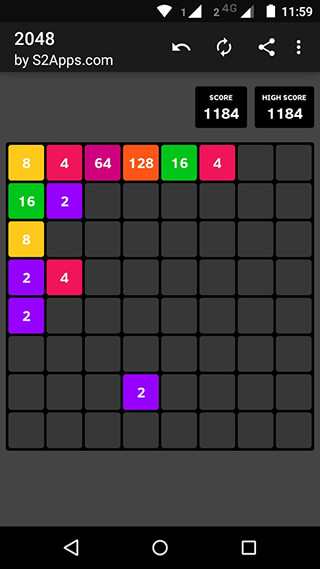 2048 скриншот 2