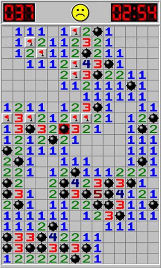 Minesweeper скриншот 2