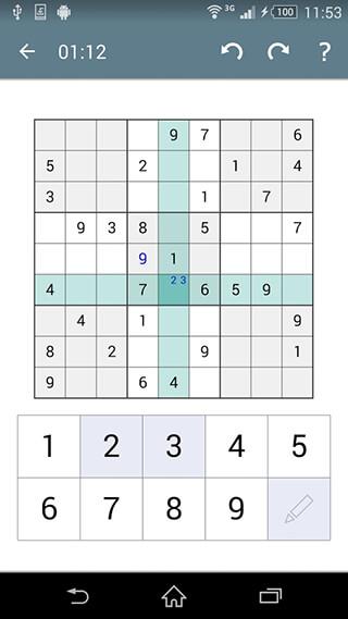 Sudoku скриншот 3