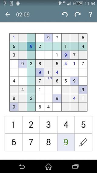Sudoku скриншот 4