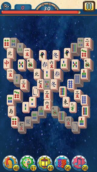 Mahjong Village скриншот 2
