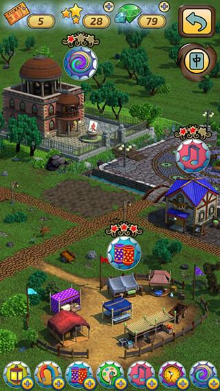 Mahjong Village скриншот 3