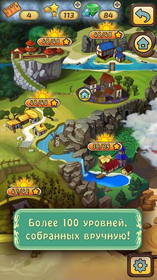 Mahjong Village скриншот 4