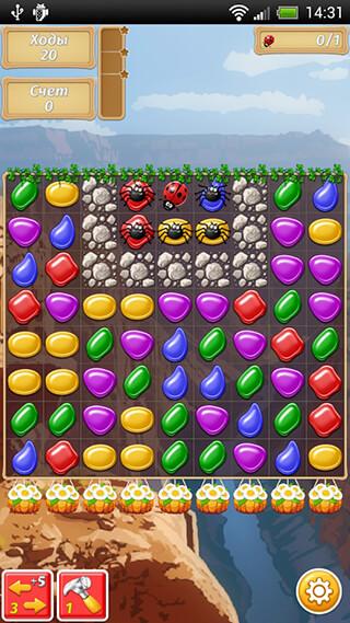 Gems Crush Mania: Match 3 скриншот 3