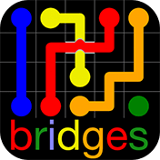 Flow Free: Bridges иконка