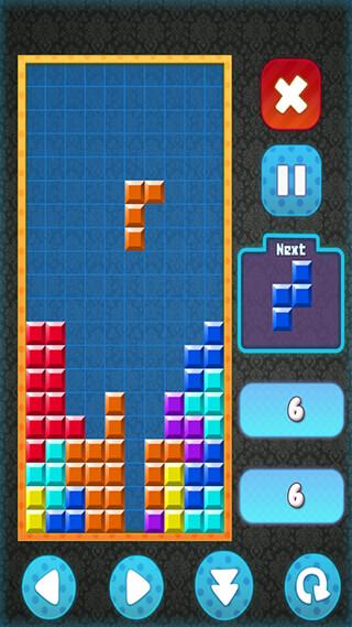 Brick Classic HD: Tetris Free скриншот 1