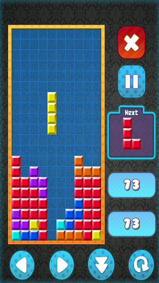 Brick Classic HD: Tetris Free скриншот 2