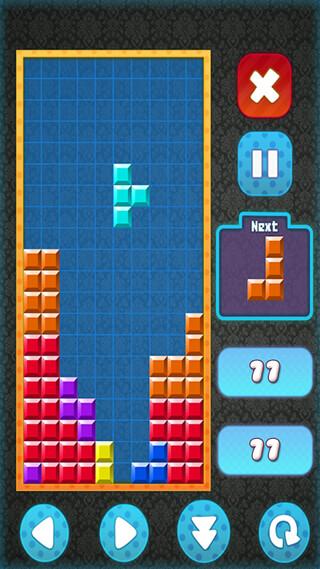 Brick Classic HD: Tetris Free скриншот 3